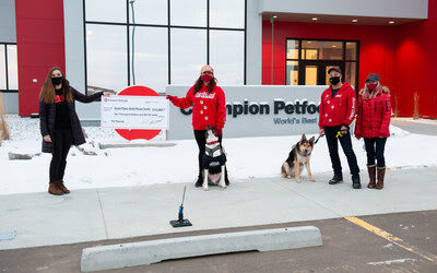 Champion Petfoods Gives Back to Pet Rescues